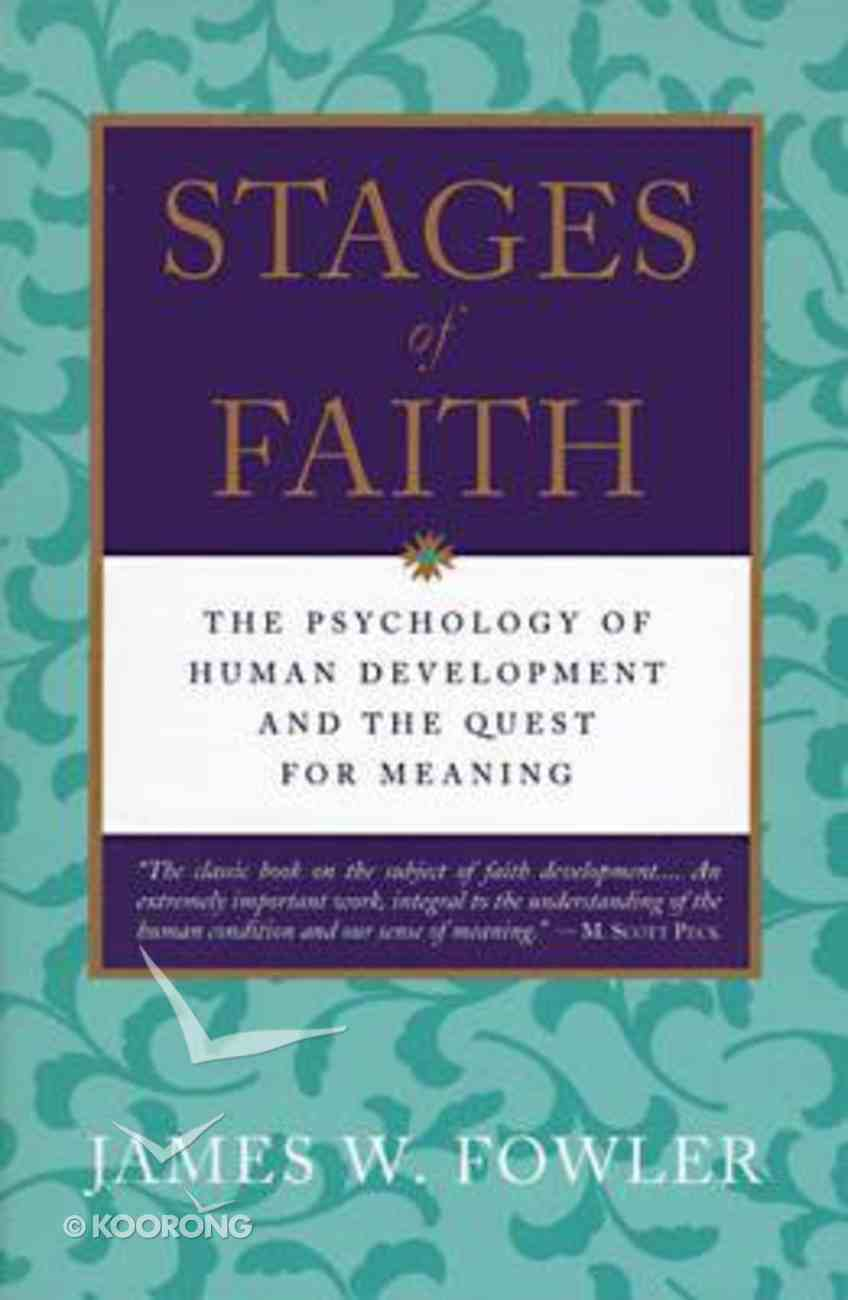 Stages of Faith Paperback