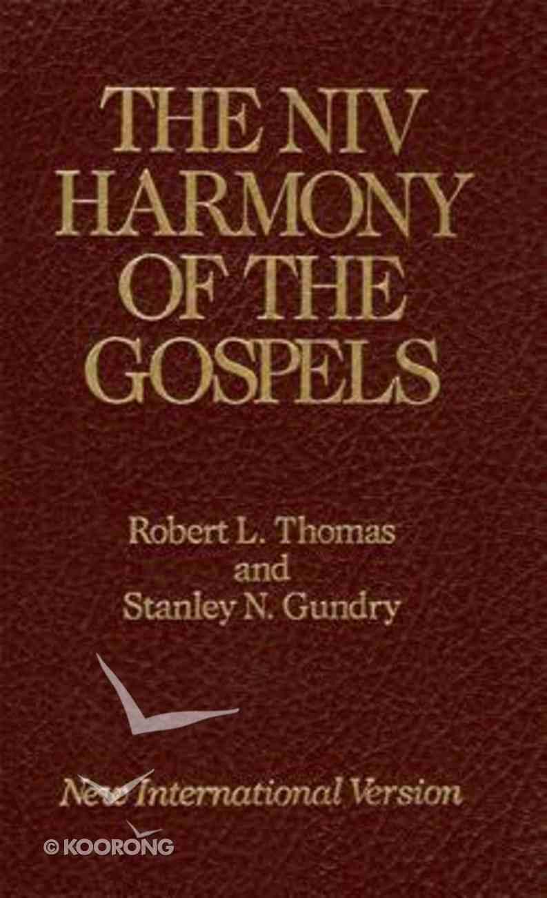 The Harmony of the Gospels (Niv) Hardback