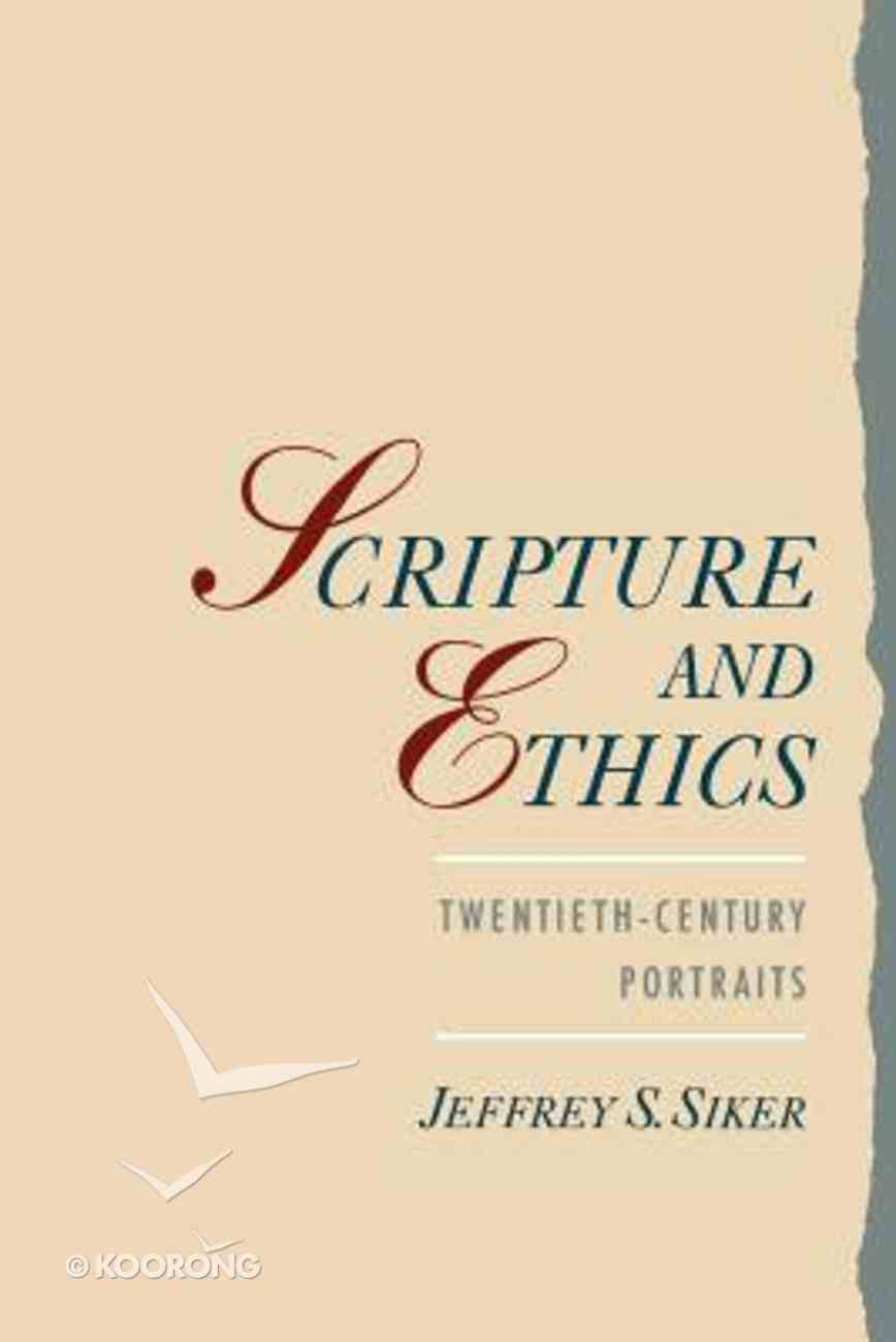 Scripture and Ethics Paperback