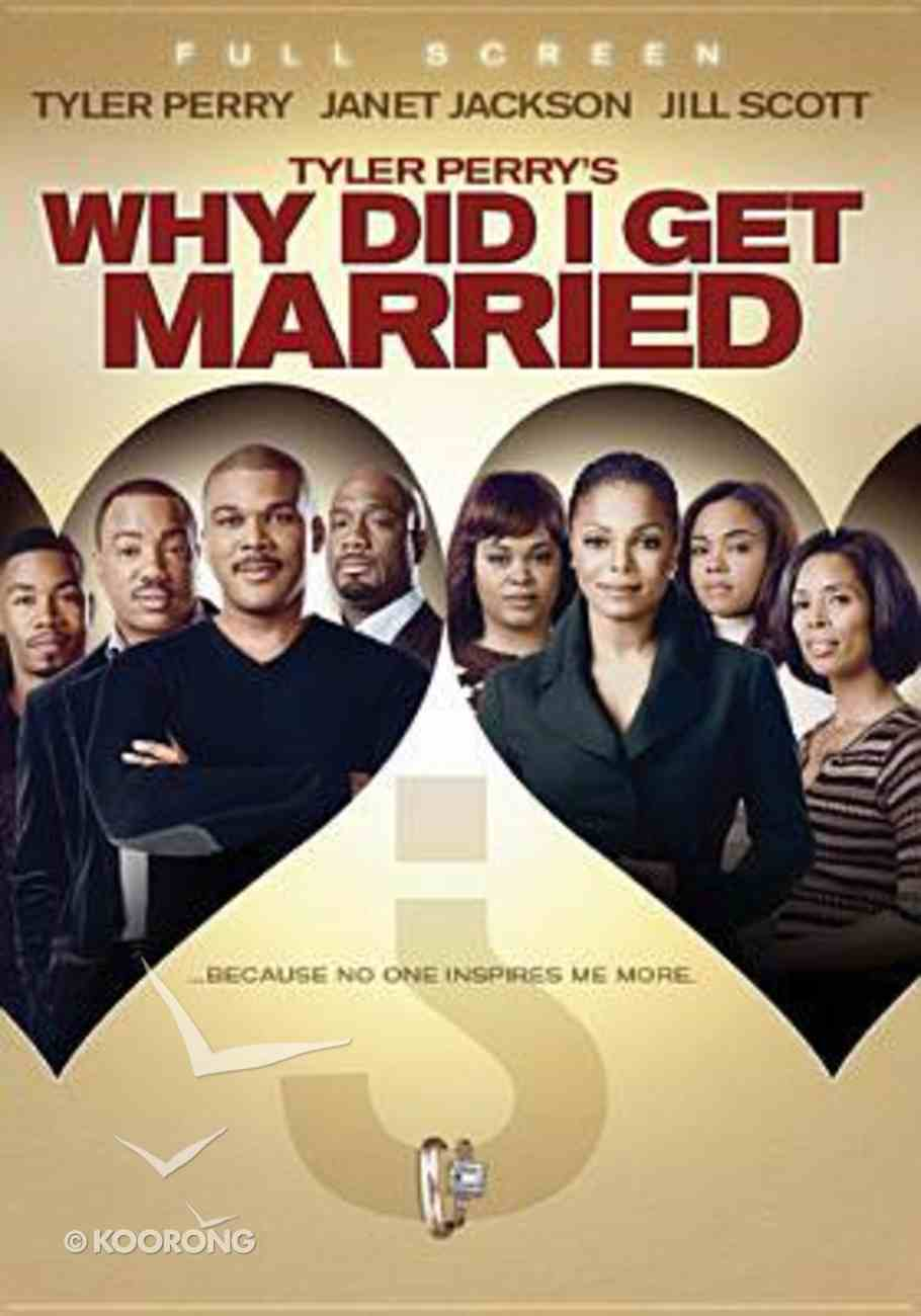 Tyler Perry's: Why Did I Get Married? (Full Screen) DVD