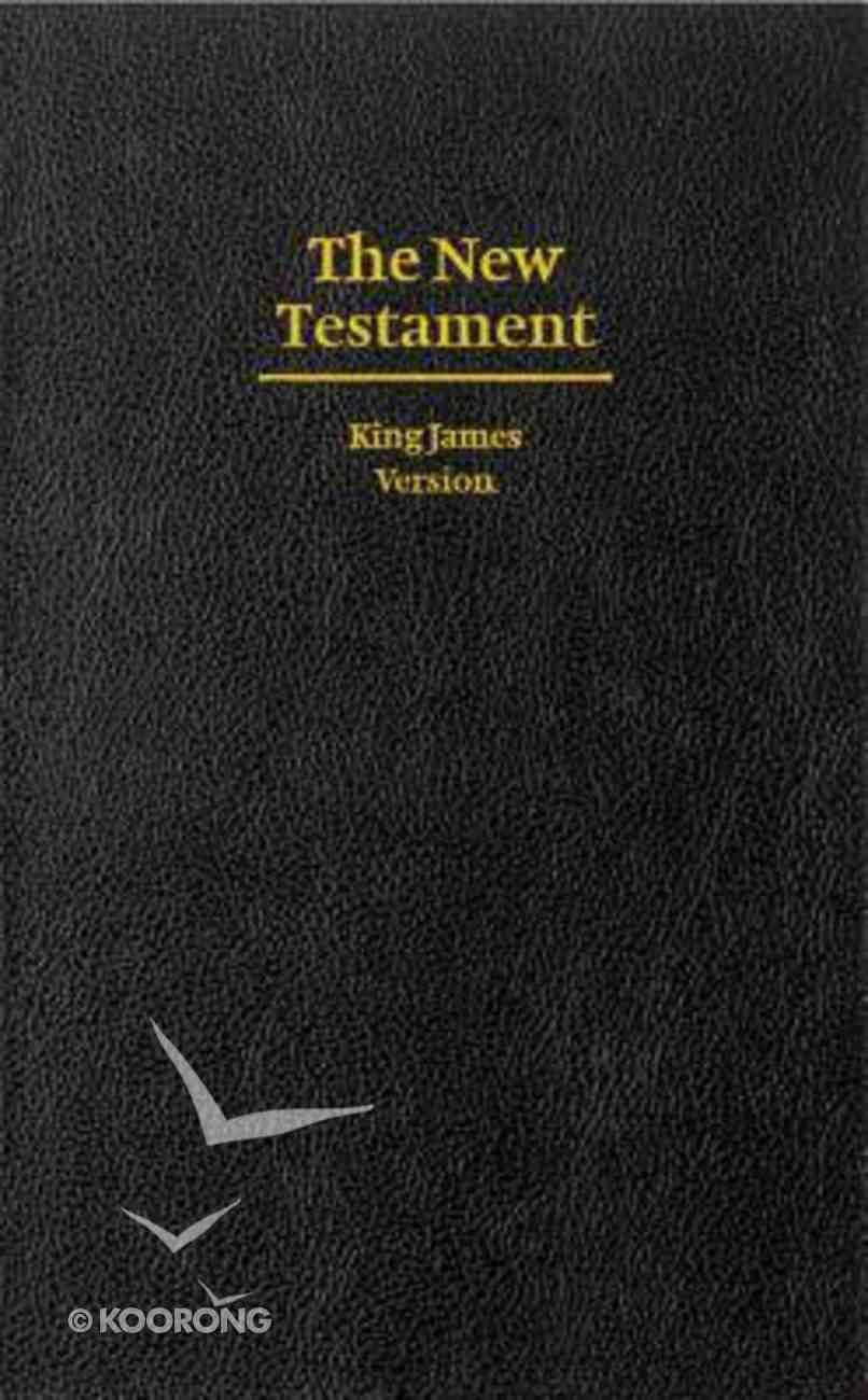 KJV Giant Print New Testament Black Hardback
