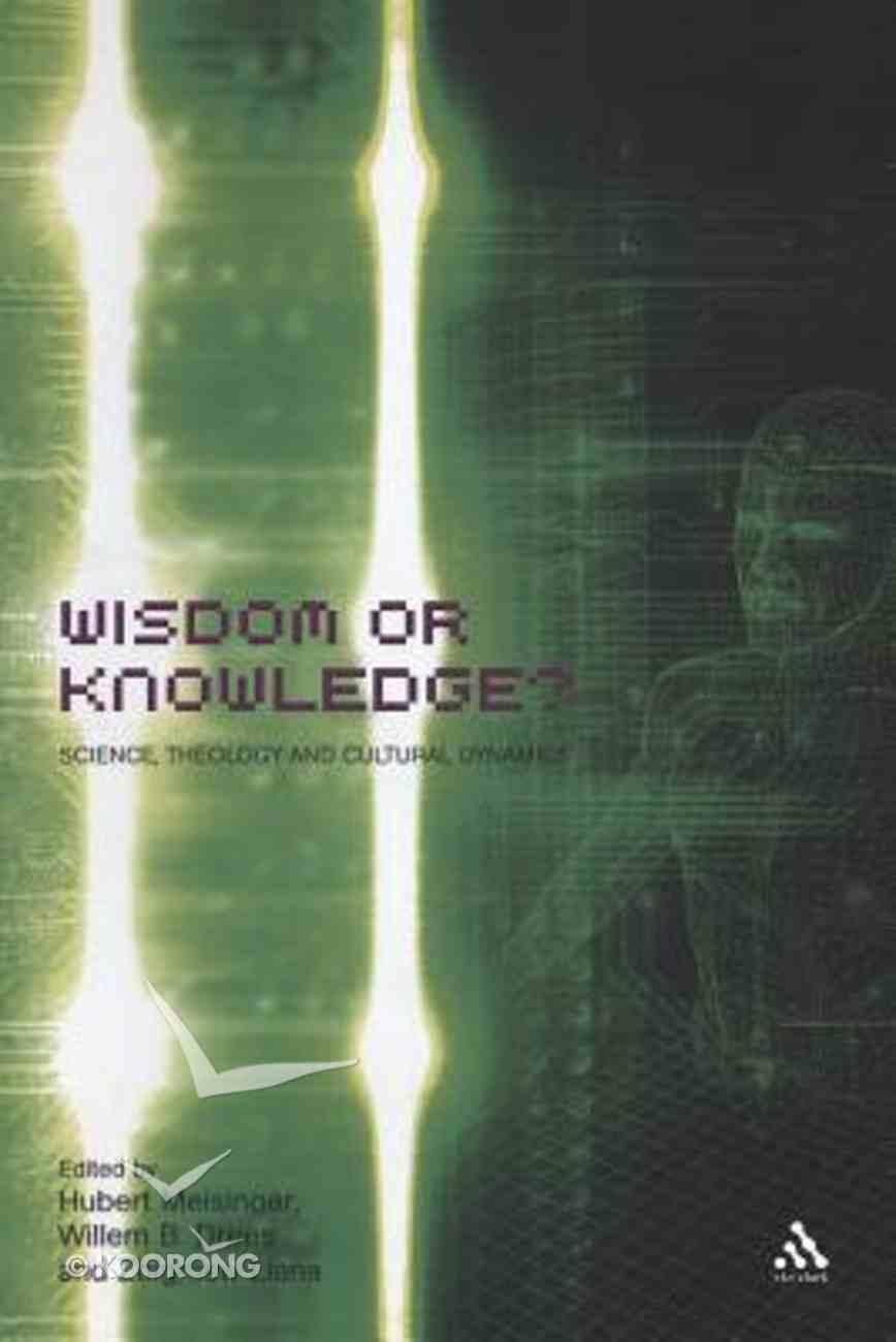 Wisdom Or Knowledge? Paperback
