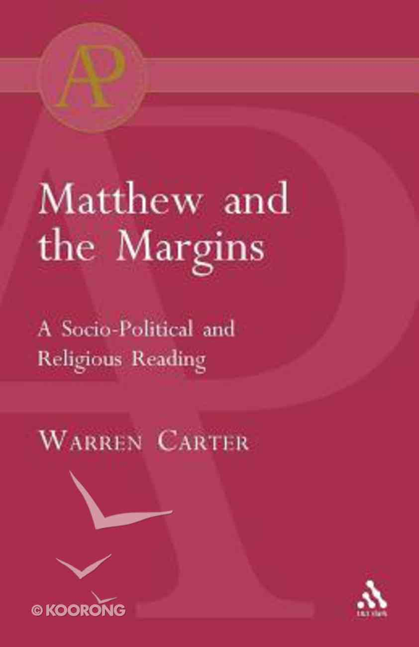 Matthew and the Margins Paperback