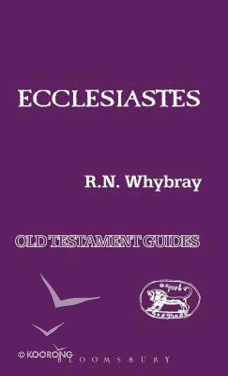 Ecclesiastes (International Critical Commentary Series) Hardback