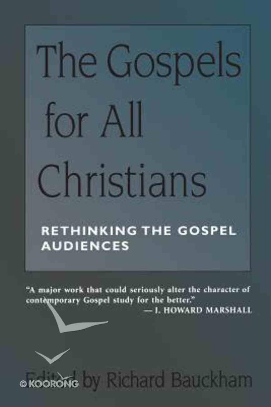 Gospels For All Christians Paperback
