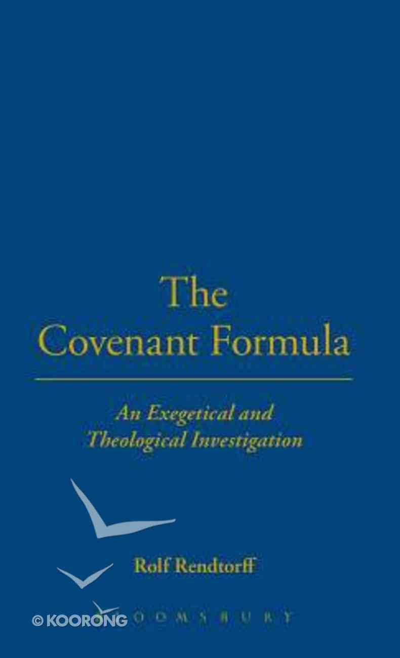 The Covenant Formila Hardback