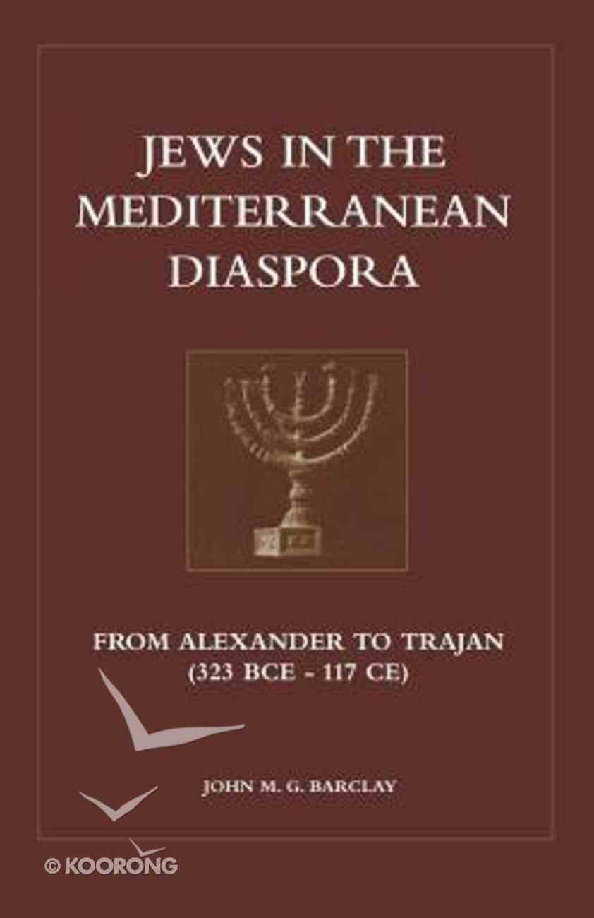 Jews in the Mediterranean Diaspora Paperback