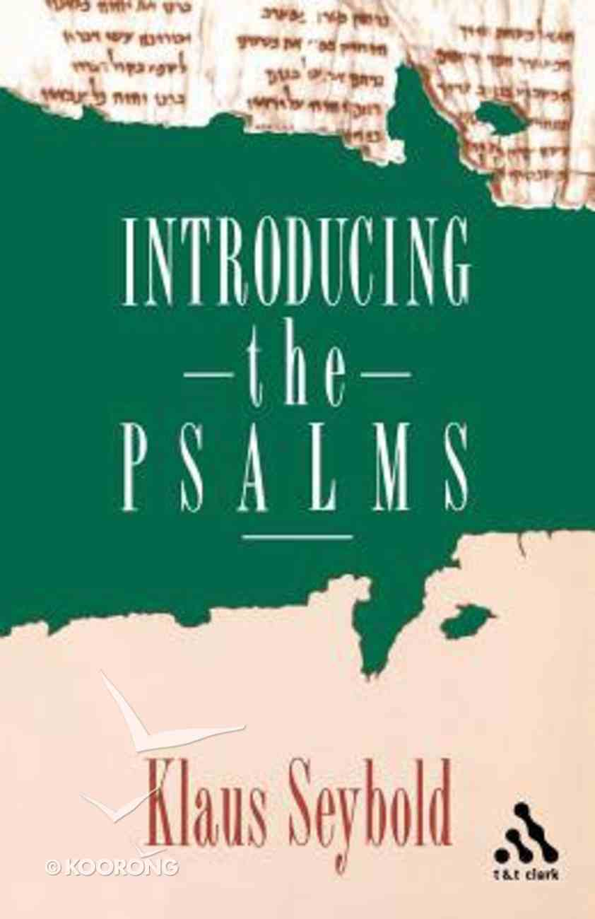 Introducing the Psalms Paperback