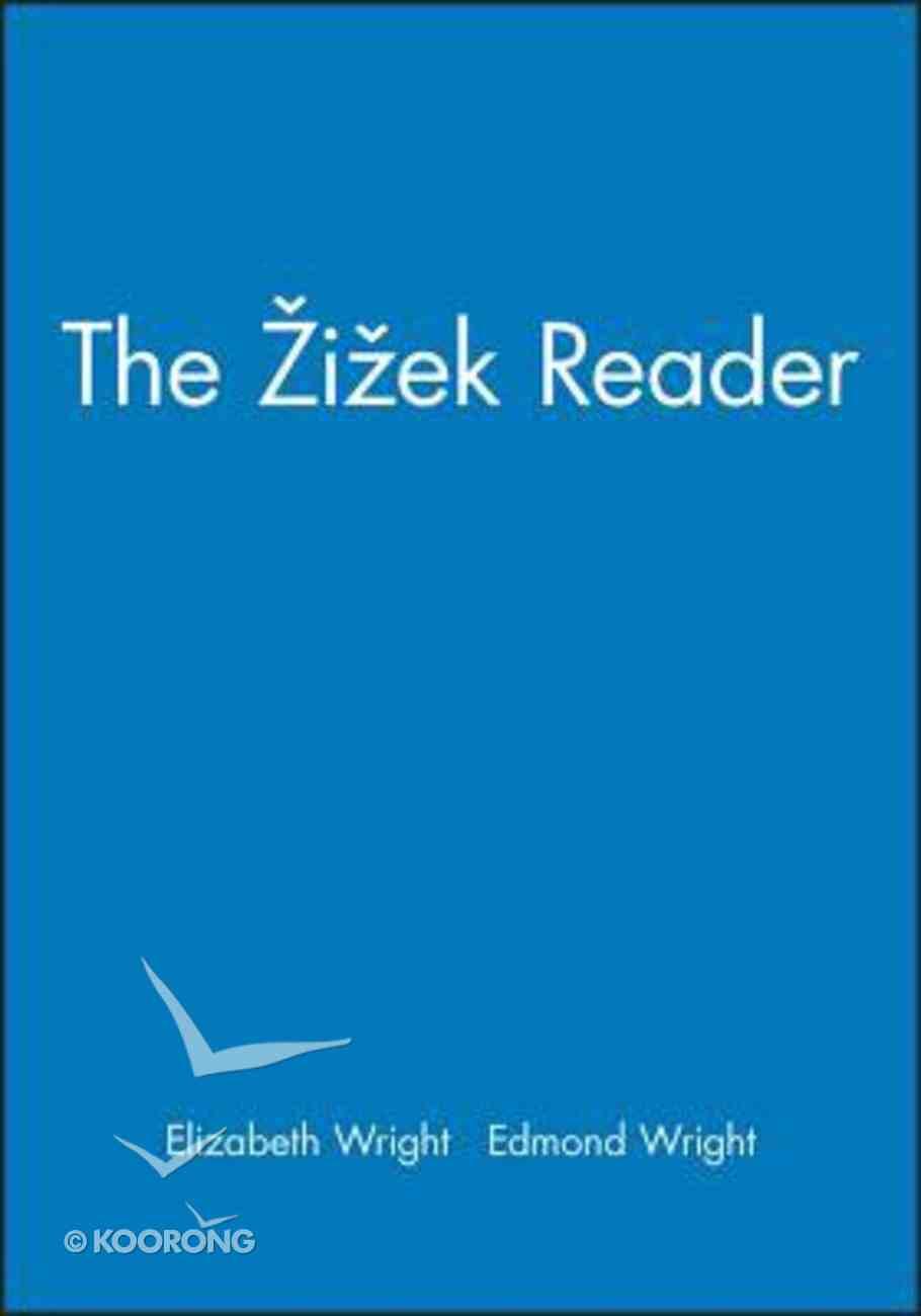 The Zizek Reader Paperback