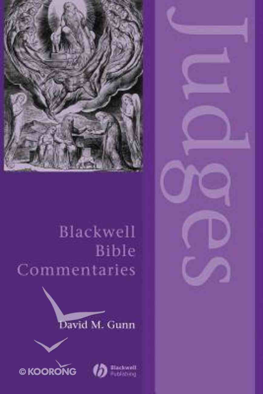 Judges (Blackwell Bible Commentaries Series) Paperback