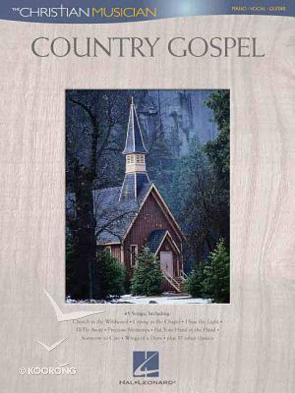 Country Gospel (Music Book) (Christian Musician Series) Paperback