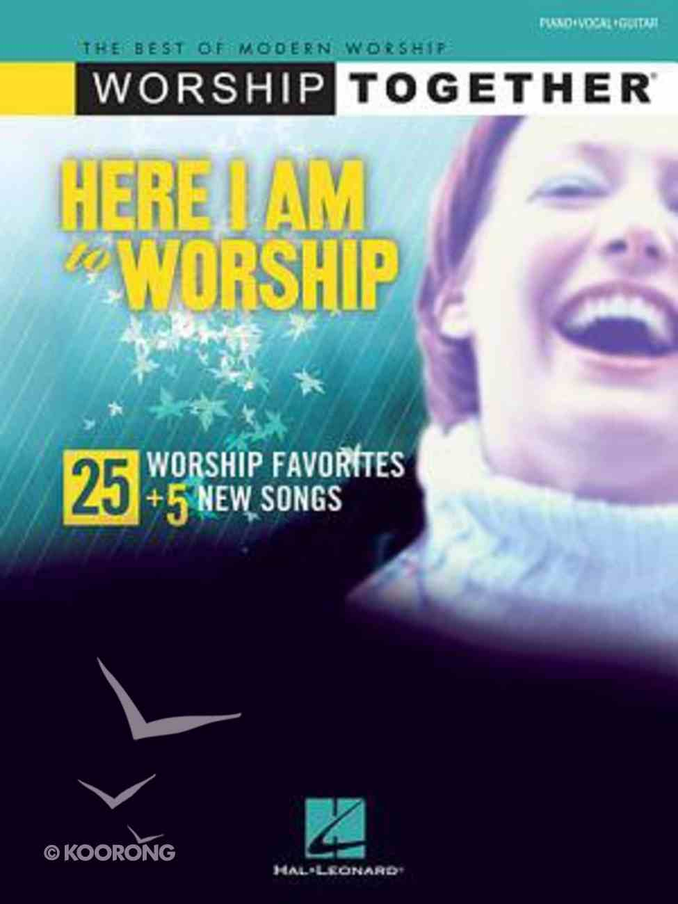Here I Am to Worship Songbook Paperback