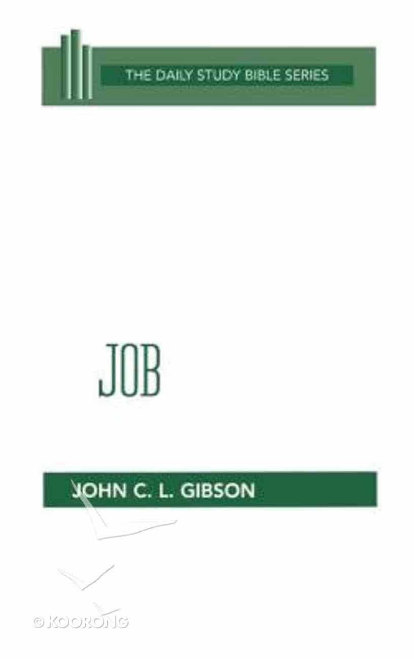 Job (Daily Study Bible Old Testament Series) Hardback