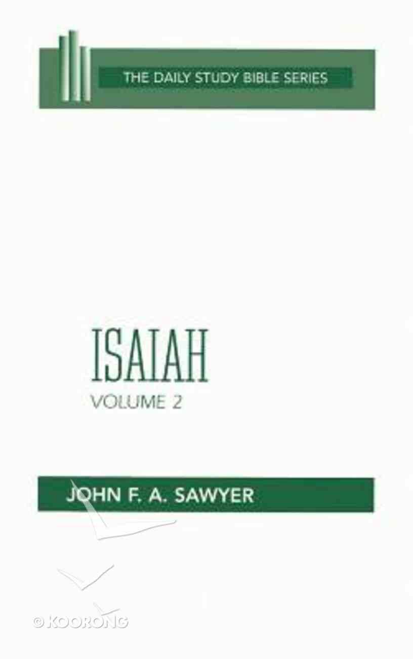 Isaiah (Vol 2) Hardback