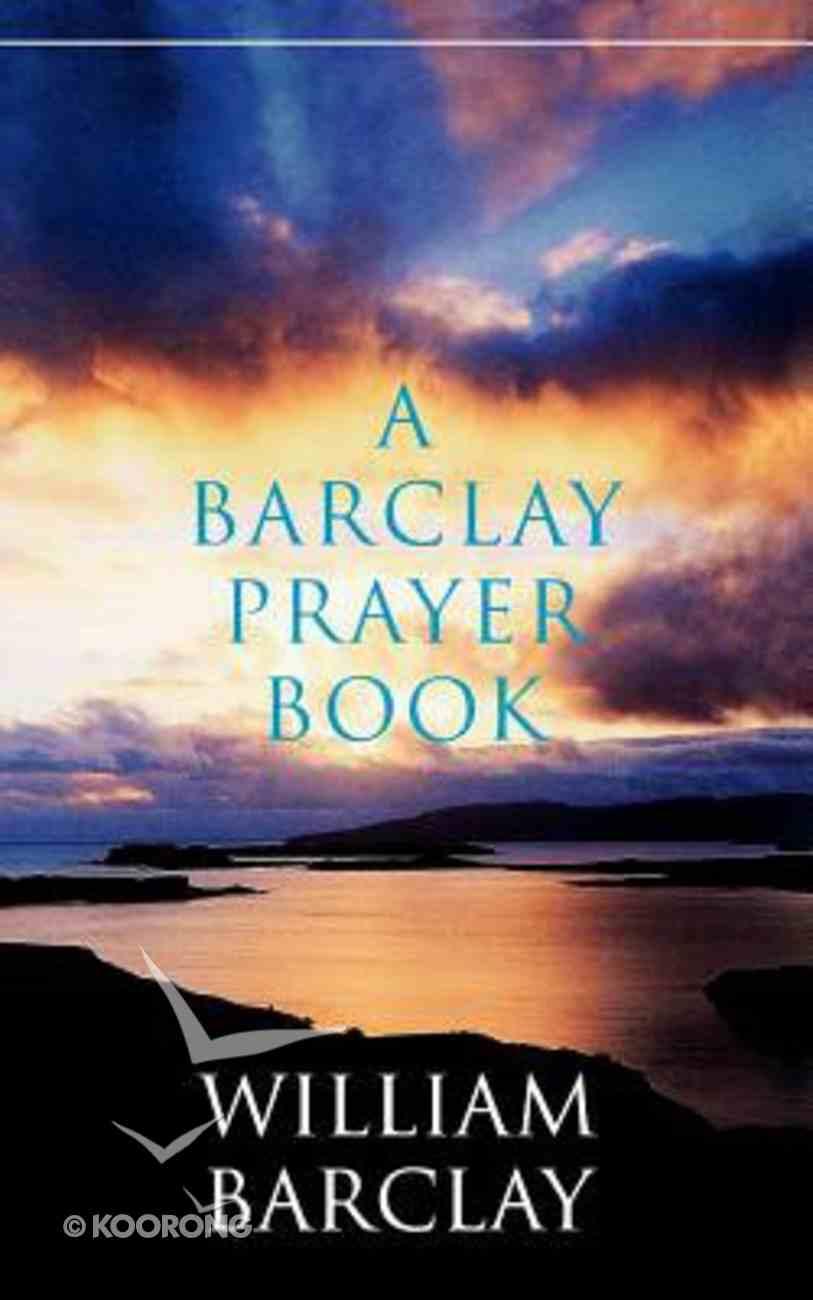 A Barclay Prayer Book Paperback
