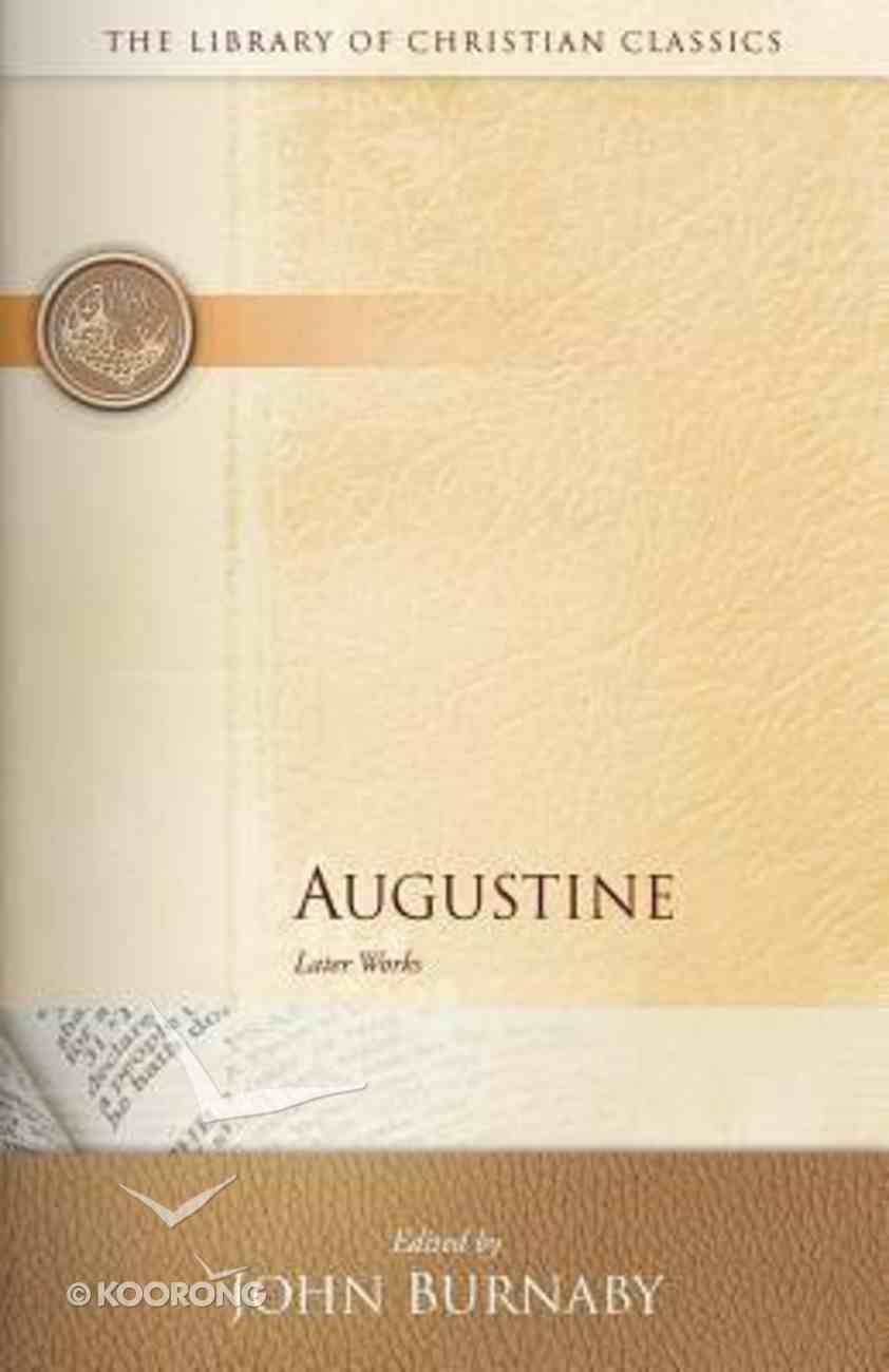 Augustine (Library Of Christian Classics Series) Paperback