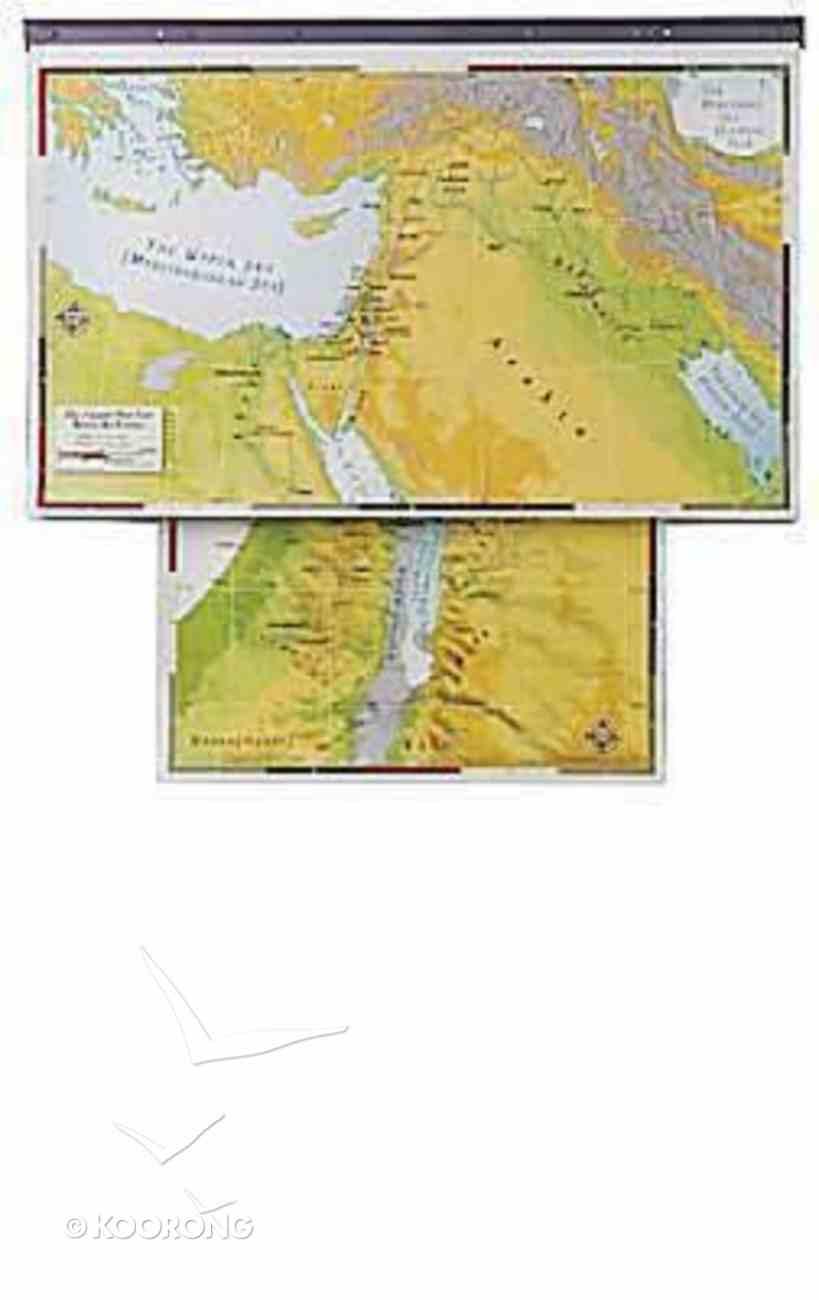 Abingdon Bible Land Maps Set (Abingdon Bible Land Maps Series) Chart/card