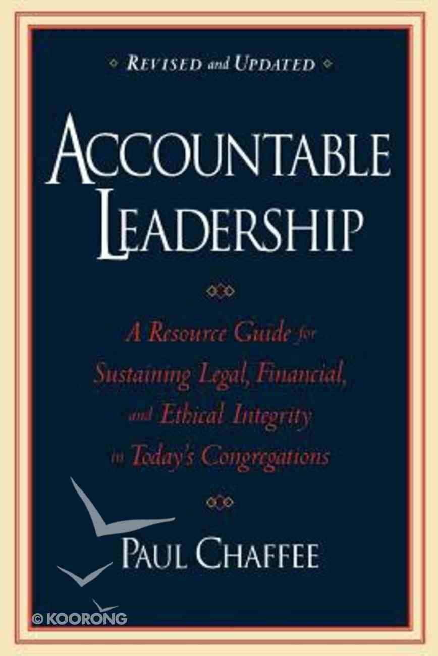 Accountable Leadership Paperback