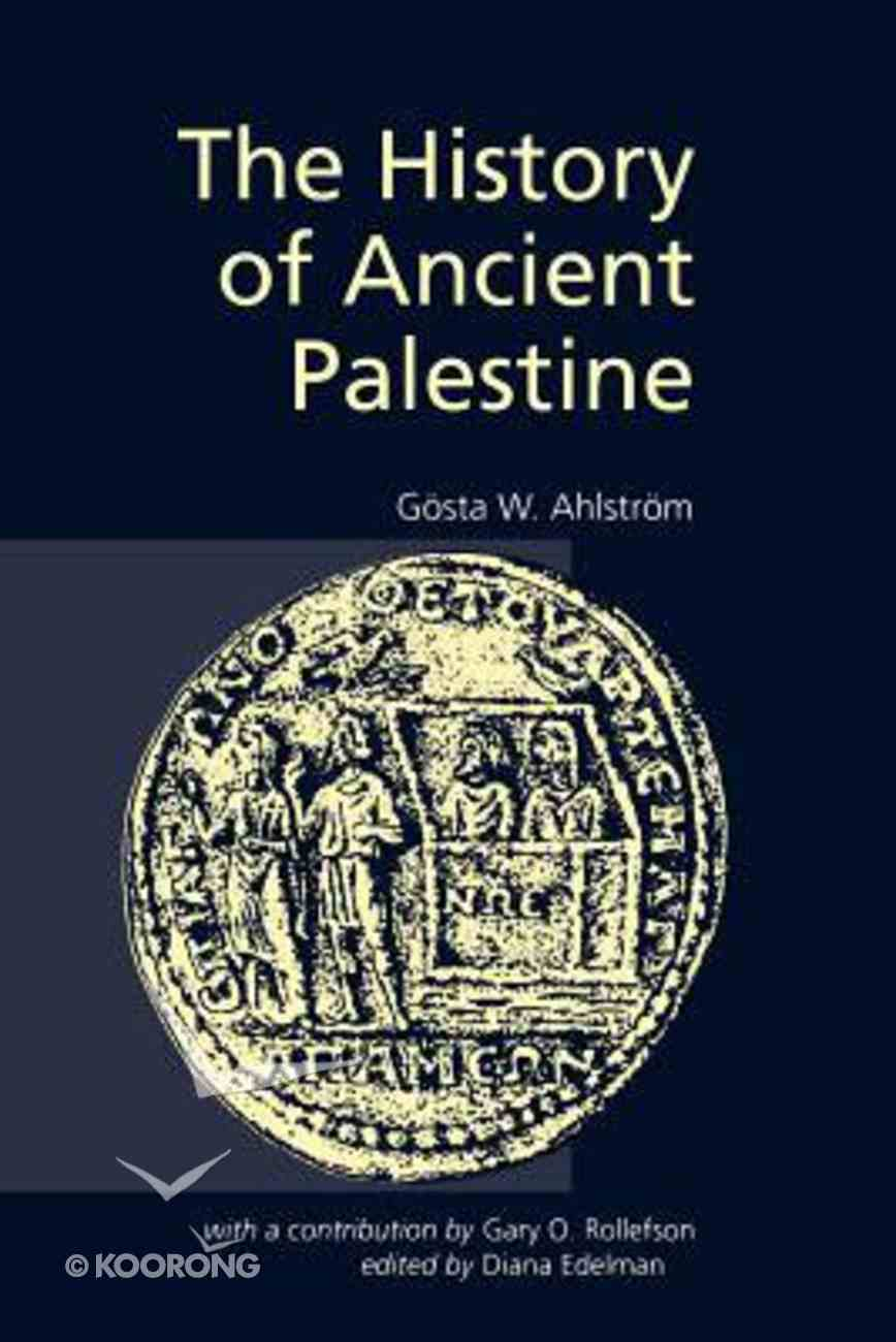 The History of Ancient Palestine Hardback