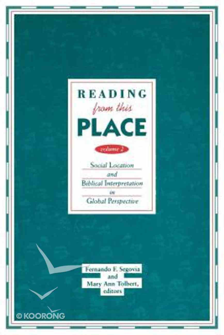 Reading From This Place (Vol 2) Paperback