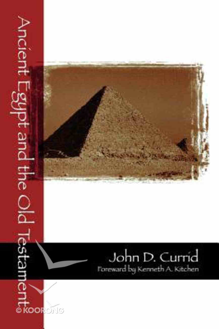 Ancient Egypt and the Old Testament Paperback