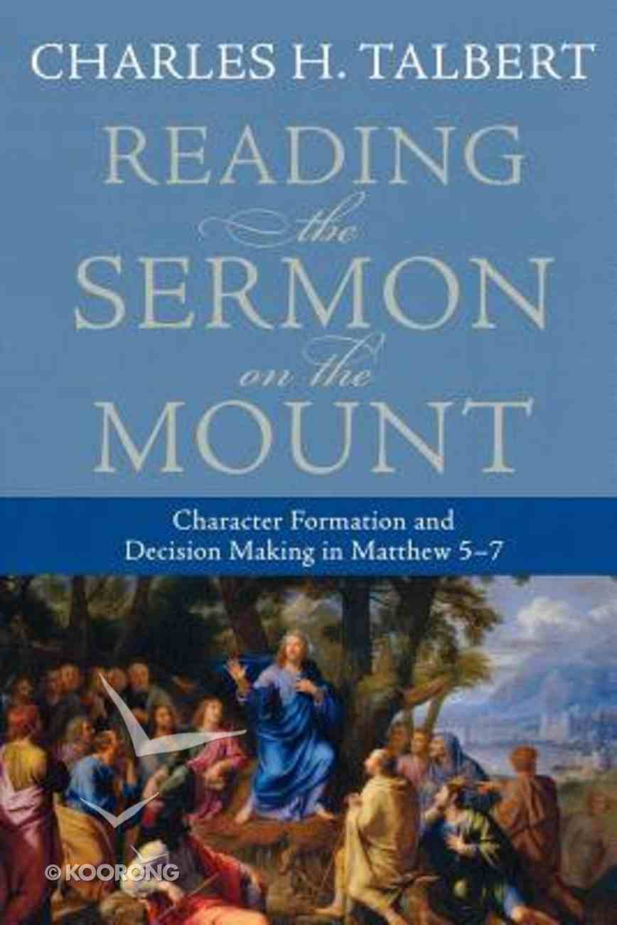 Reading the Sermon on the Mount Paperback