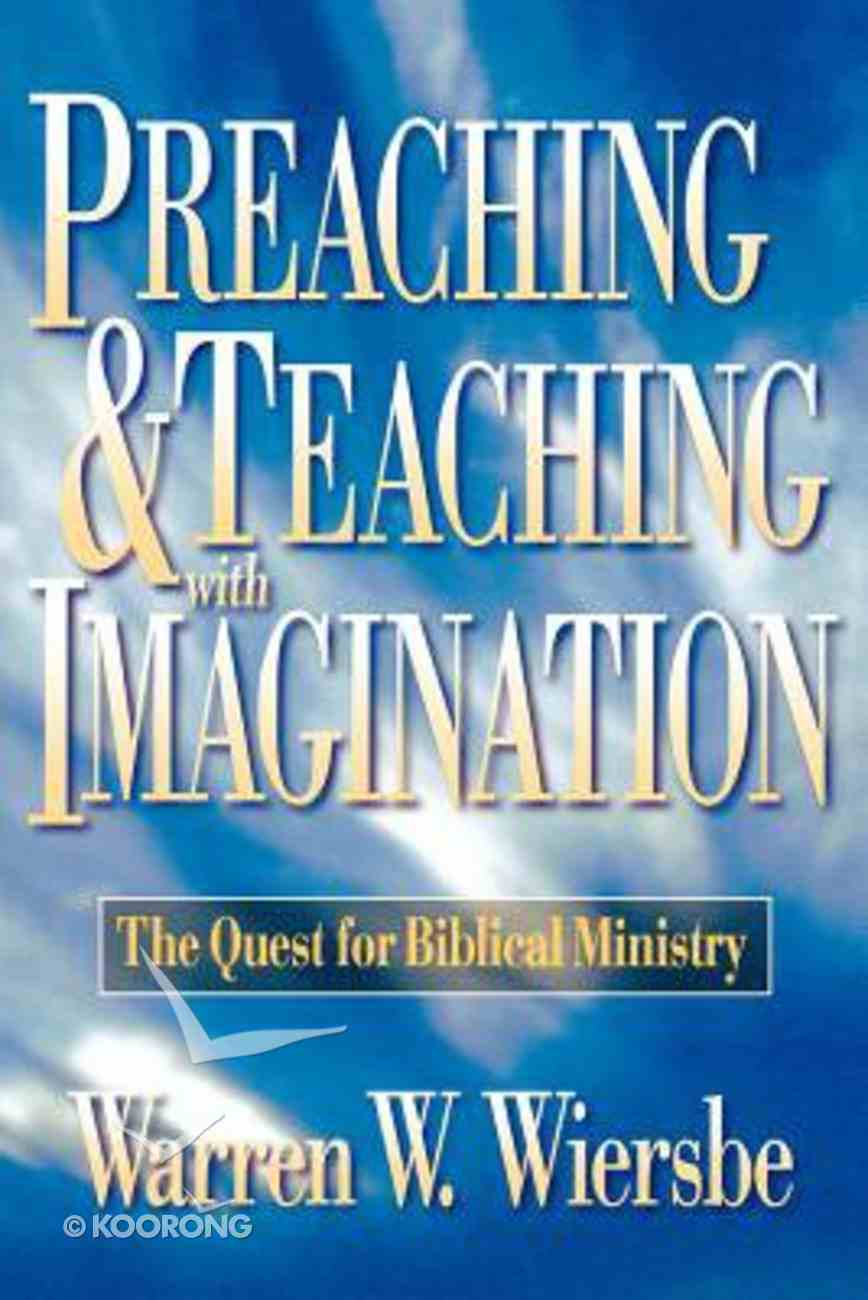 Preaching and Teaching With Imagination Paperback