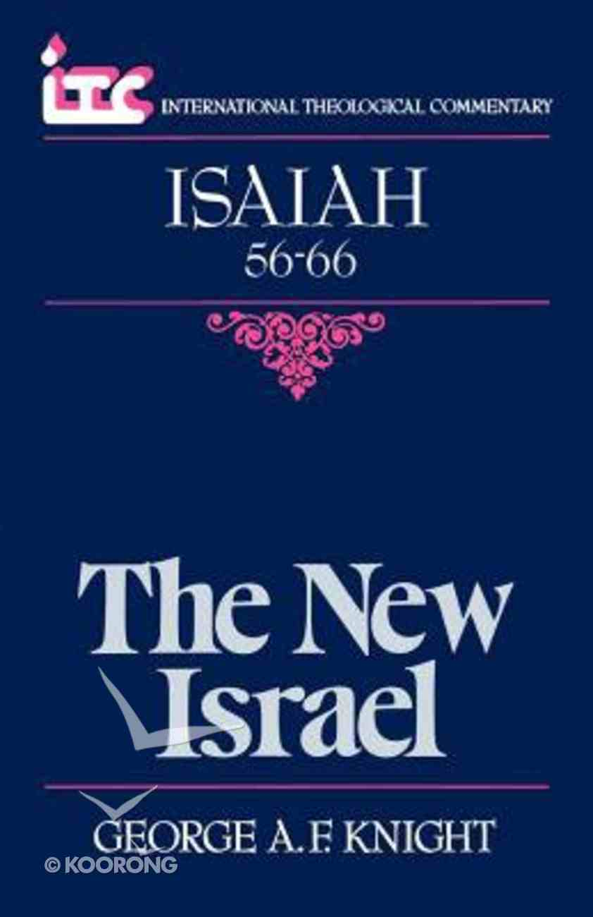 Itc Isaiah 56-66 (International Theological Commentary Series) Paperback