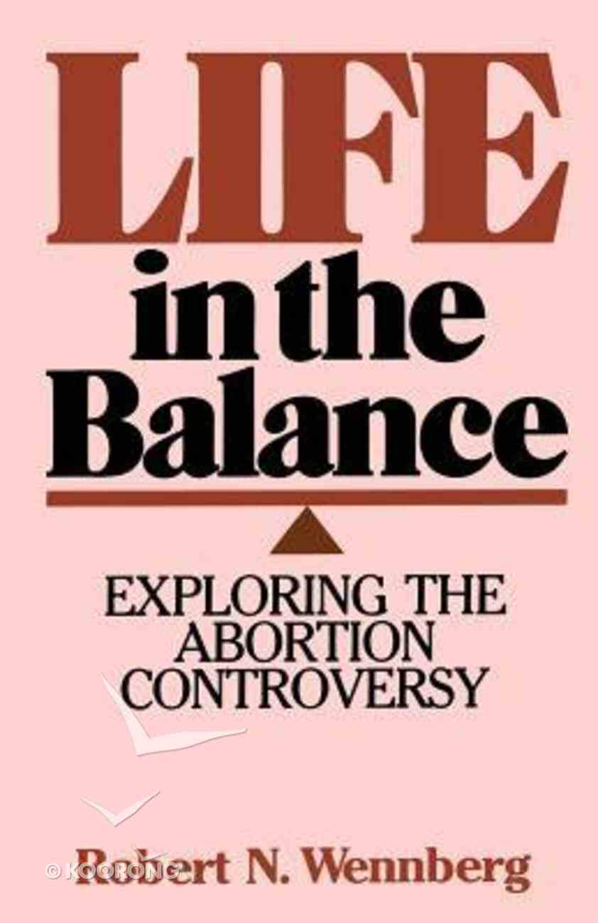 Life in the Balance Paperback