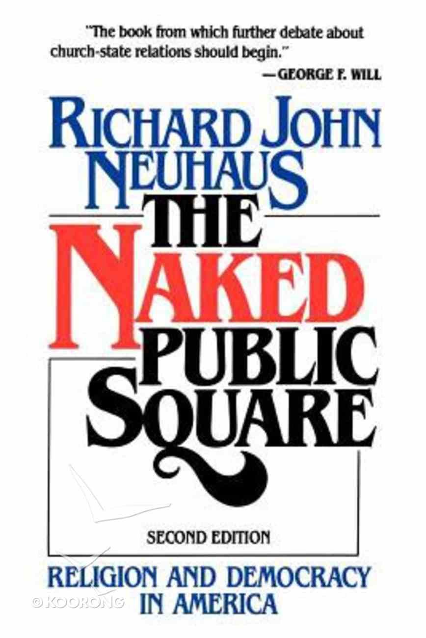 Naked Public Square Paperback