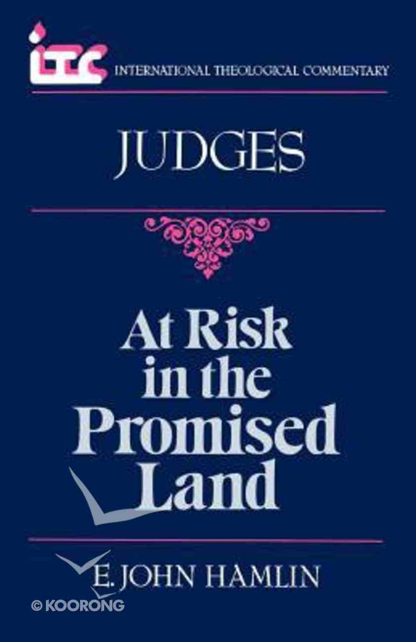 Itc Judges (International Theological Commentary Series) Paperback