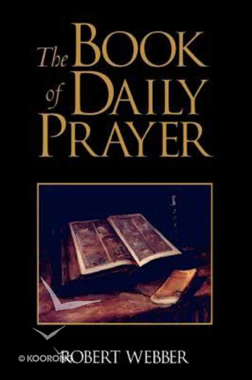 Book of Daily Prayer Paperback