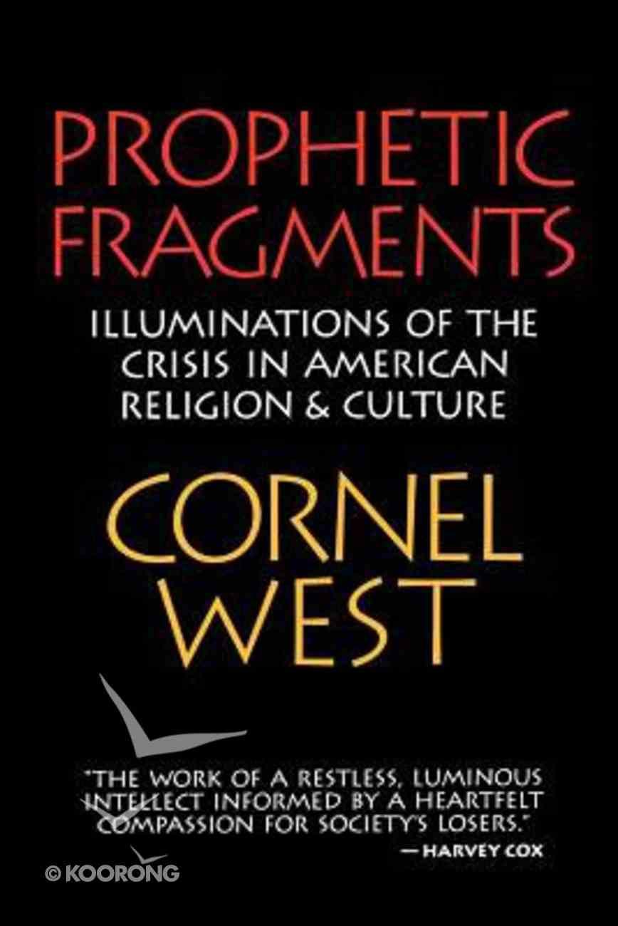 Prophetic Fragments Paperback