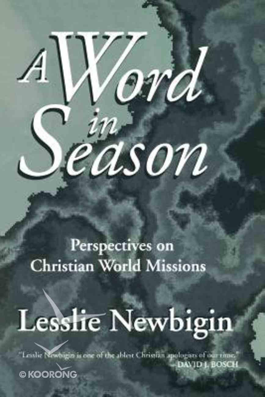 Word in Season Paperback