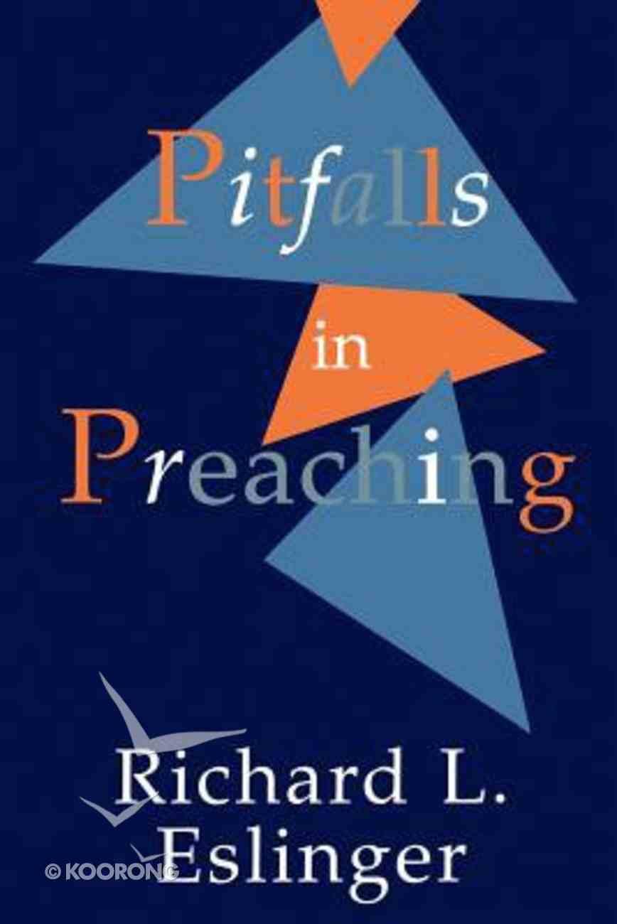 Pitfalls in Preaching Paperback