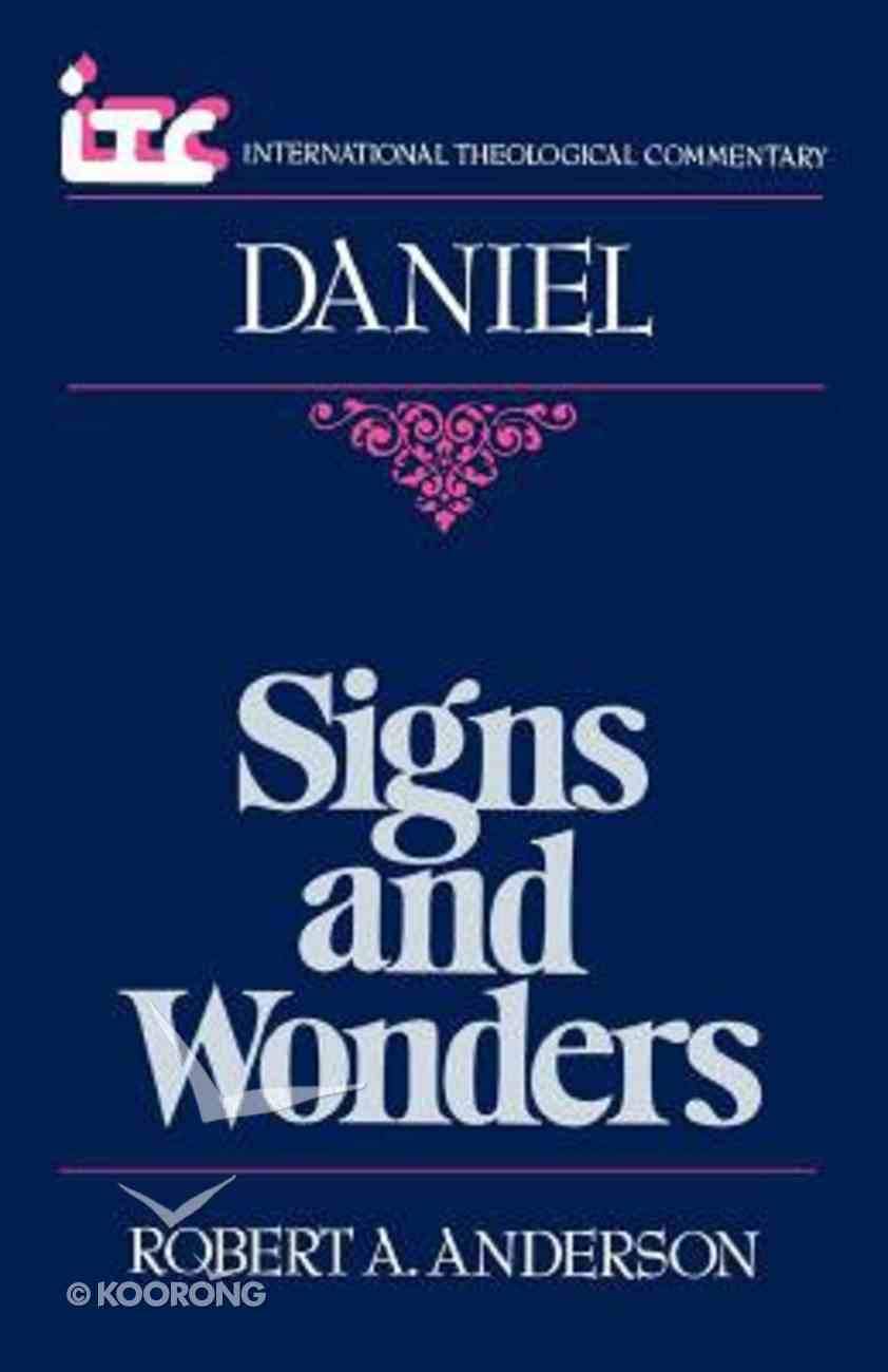 Itc Daniel (International Theological Commentary Series) Paperback