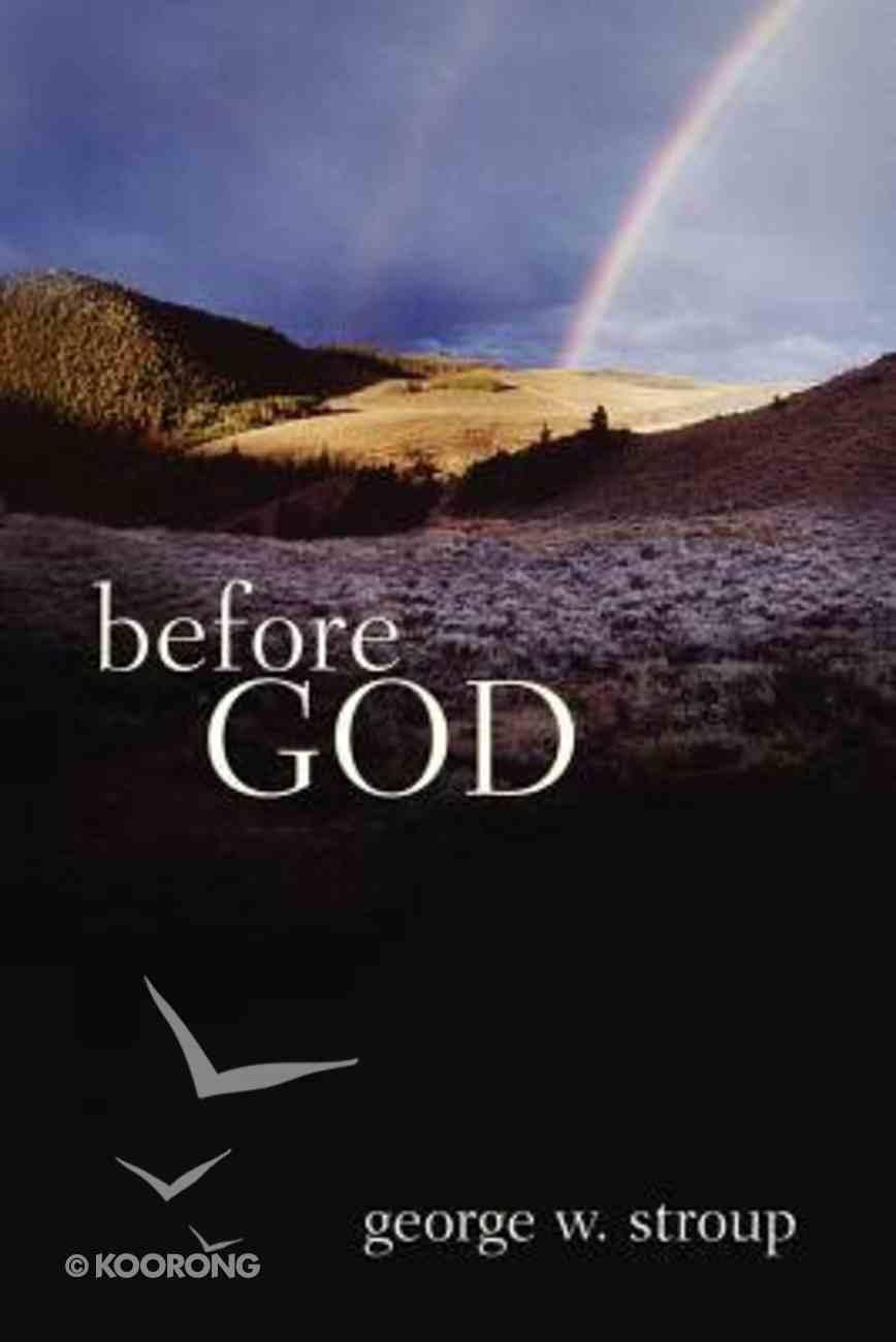 Before God Paperback