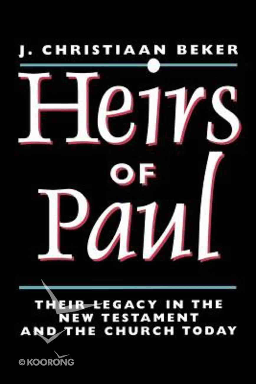 Heirs of Paul Paperback