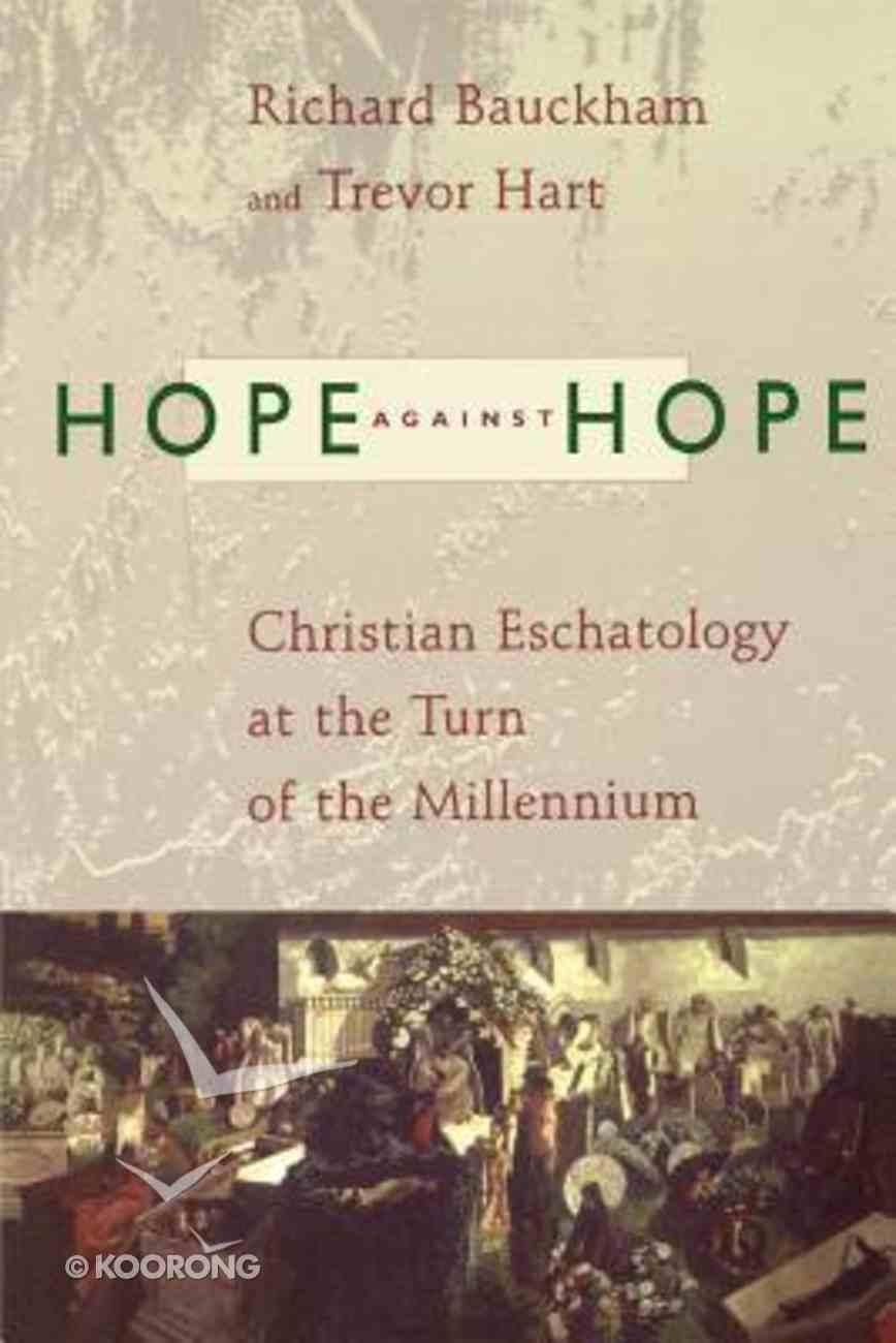 Hope Against Hope Paperback