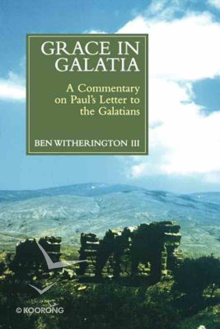 Grace in Galatia Paperback
