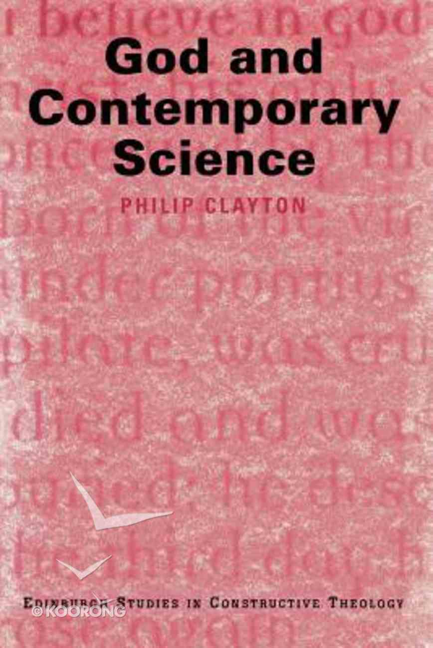 God and Contemporary Science Paperback