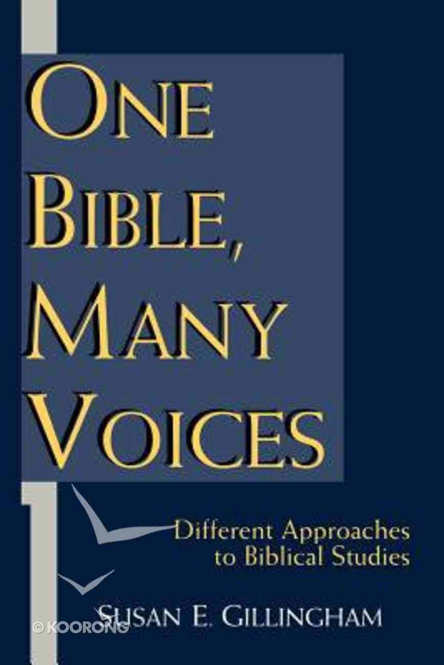 One Bible Many Voices Paperback
