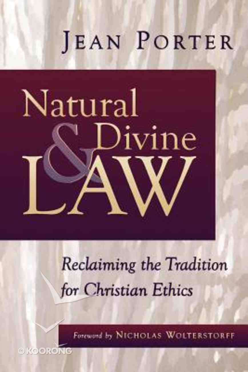 Natural and Divine Law Paperback