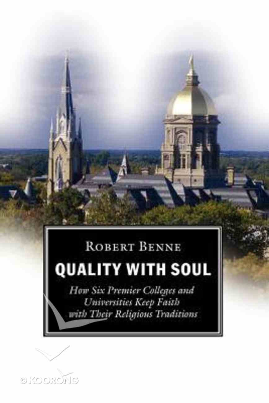 Quality With Soul Paperback