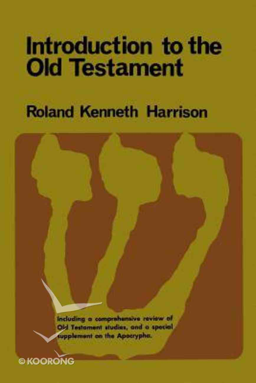 Introduction to the Old Testament Part 1 Paperback