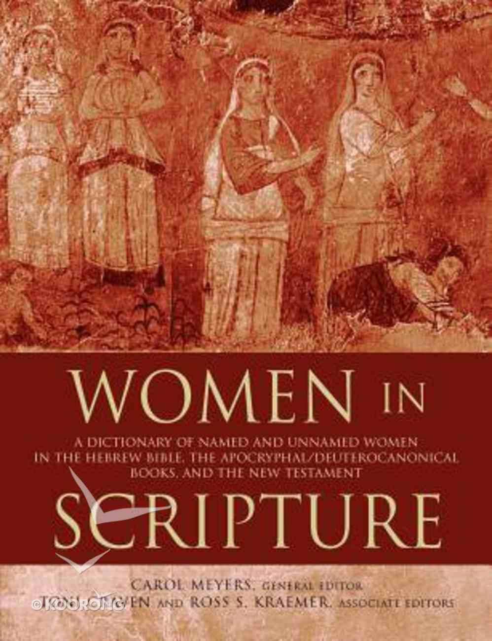Women in Scripture Paperback