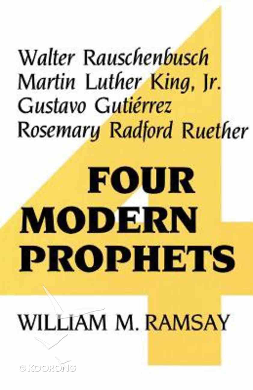 Four Modern Prophets Paperback