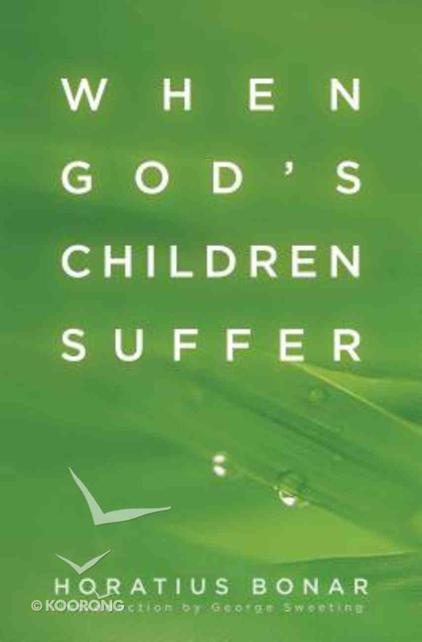When Gods Children Suffer Paperback