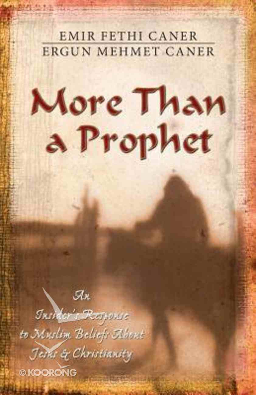More Than a Prophet Paperback