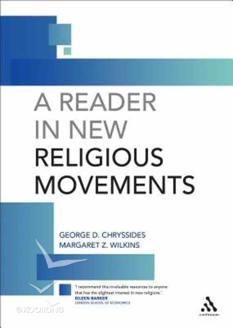 A Reader in New Religious Movements Paperback
